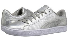 Silver Puma Sneakers Men's