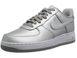 Silver Nike Air Force 1