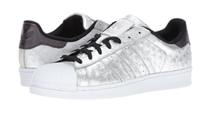 Silver Adidas Superstars