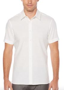 White Summer Shirt Men's