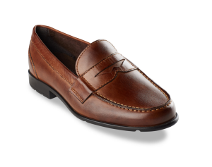 Brown Loafers Rockport