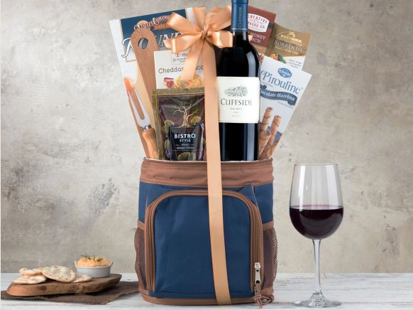 Hole in One Malbec Golf Wine Gift bag