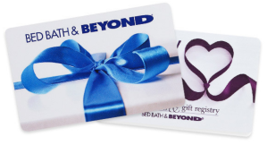 Gift Card Bed Bath and Beyond