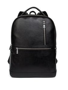 Black Leather Backpack Men's