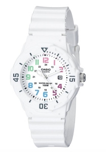 White Watch Casio Women's
