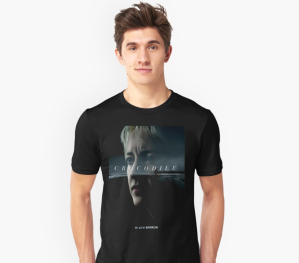 Black Mirror Crocodile T-Shirt