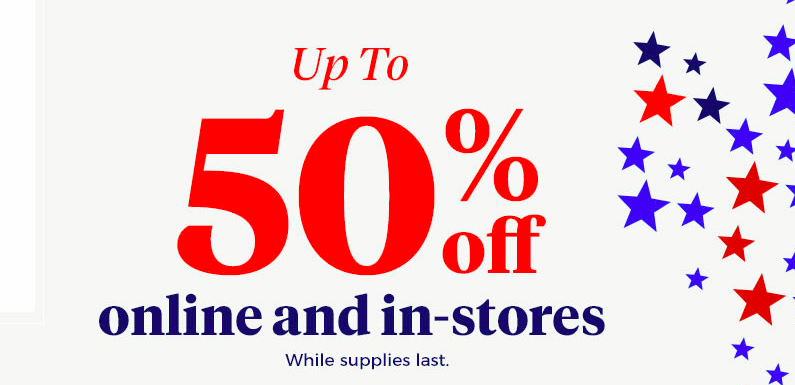 bed bath and beyond memorial day sale