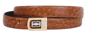 Brown Leather Belt Vegan