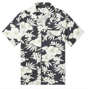 floral beach shirt men's