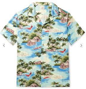 Hawaiian Shirt men's classic