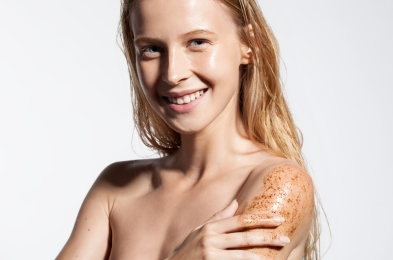 best body scrub skin shimmer