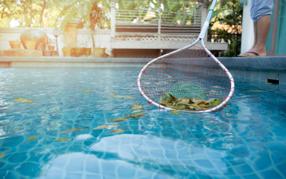 how to clean your pool