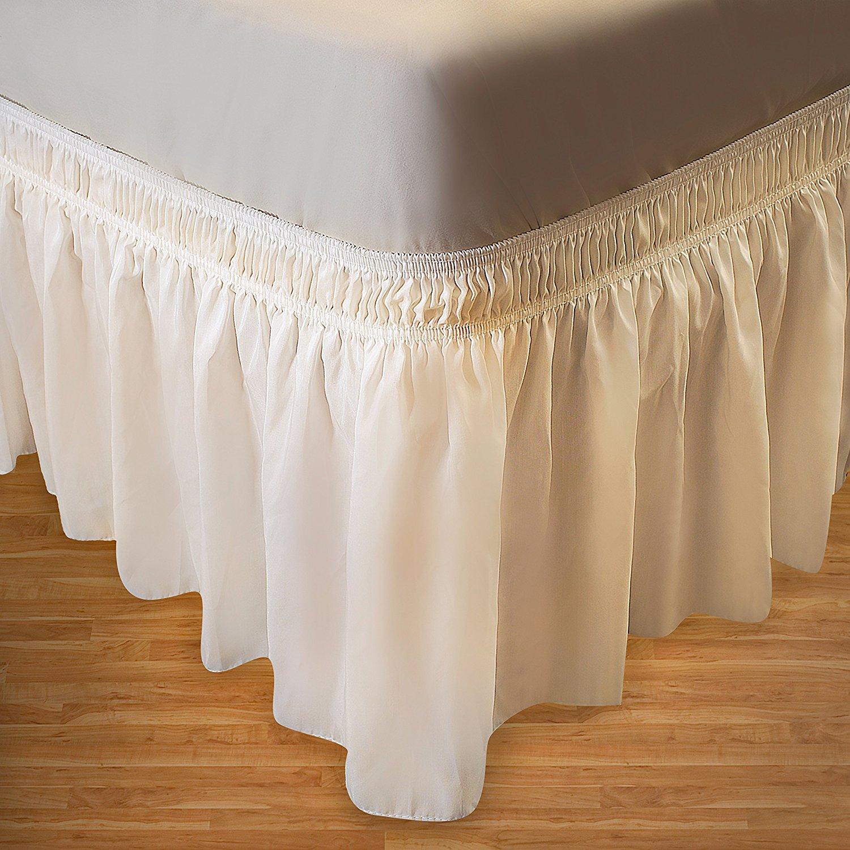 best bed skirts under 100 ruffled biscayne bay