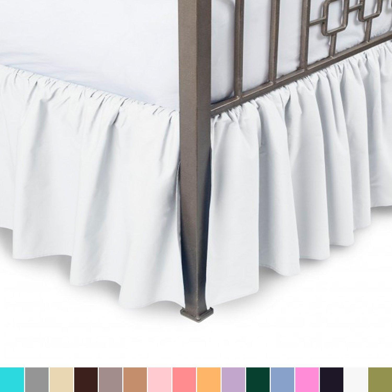 best bed skirts under 100 ruffled harmony lane split corners