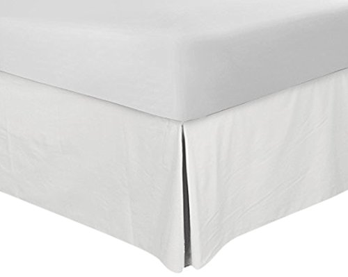 best bed skirts under 100 pleated utopia bedding