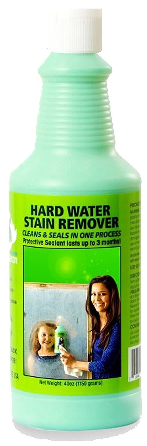 how to remove stains specialty solutions hard water remover