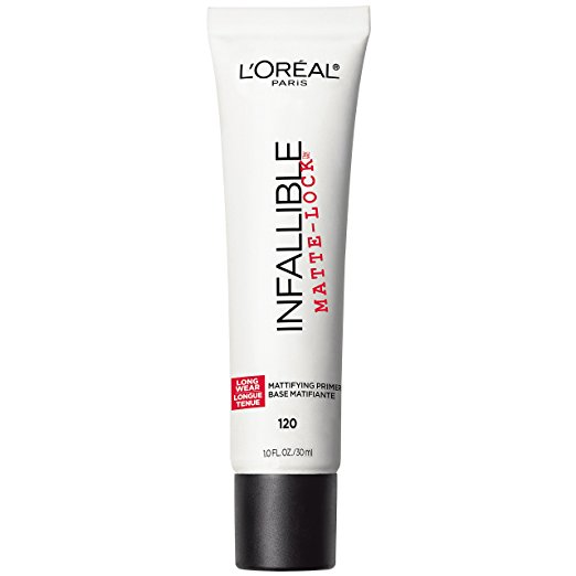 oily skin how to keep face free summer l'oreal paris infallible matte-lock primer