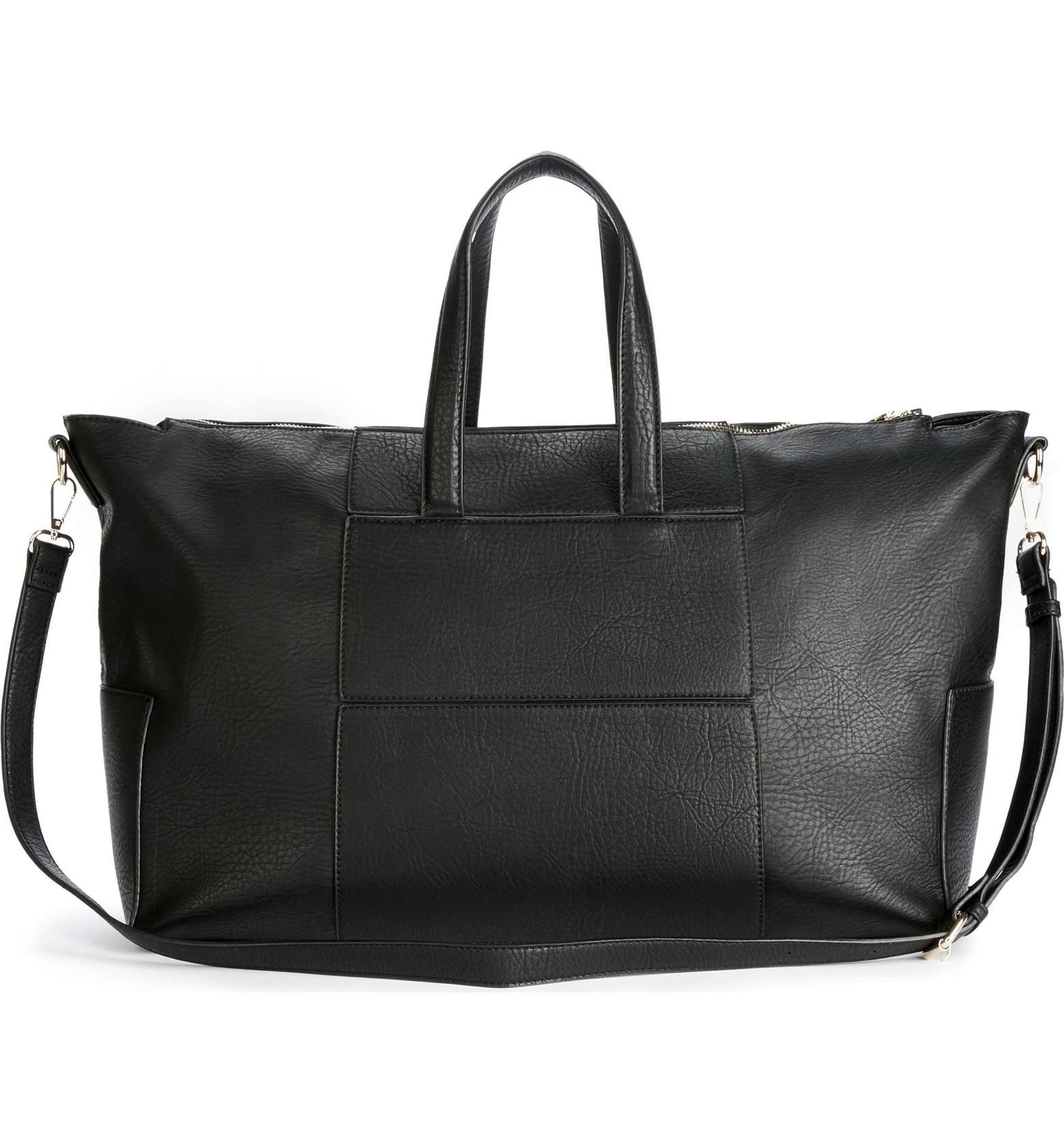 sole society vegan leather travel bags cory tote faux