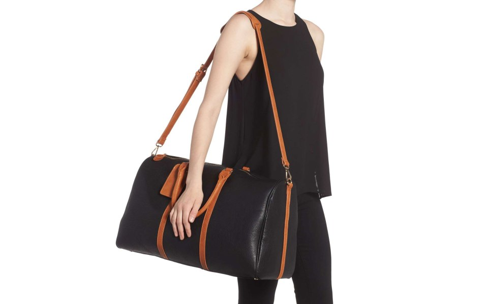 sole society vegan leather travel bags