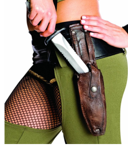 Zac Snyder Knife Sheath Costume Set