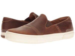 Leather Slip-On Sneakers Women's