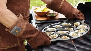 Grilled Oyster Pan