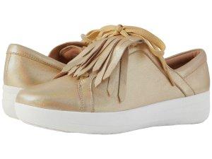 Gold Sneakers Women's