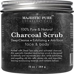 Charcoal Scrub Majestic Pure
