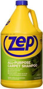 best carpet cleaner solutions zep all purpose carpet shampoo concentrate