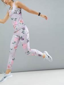 ASOS 4505 Floral Leggings