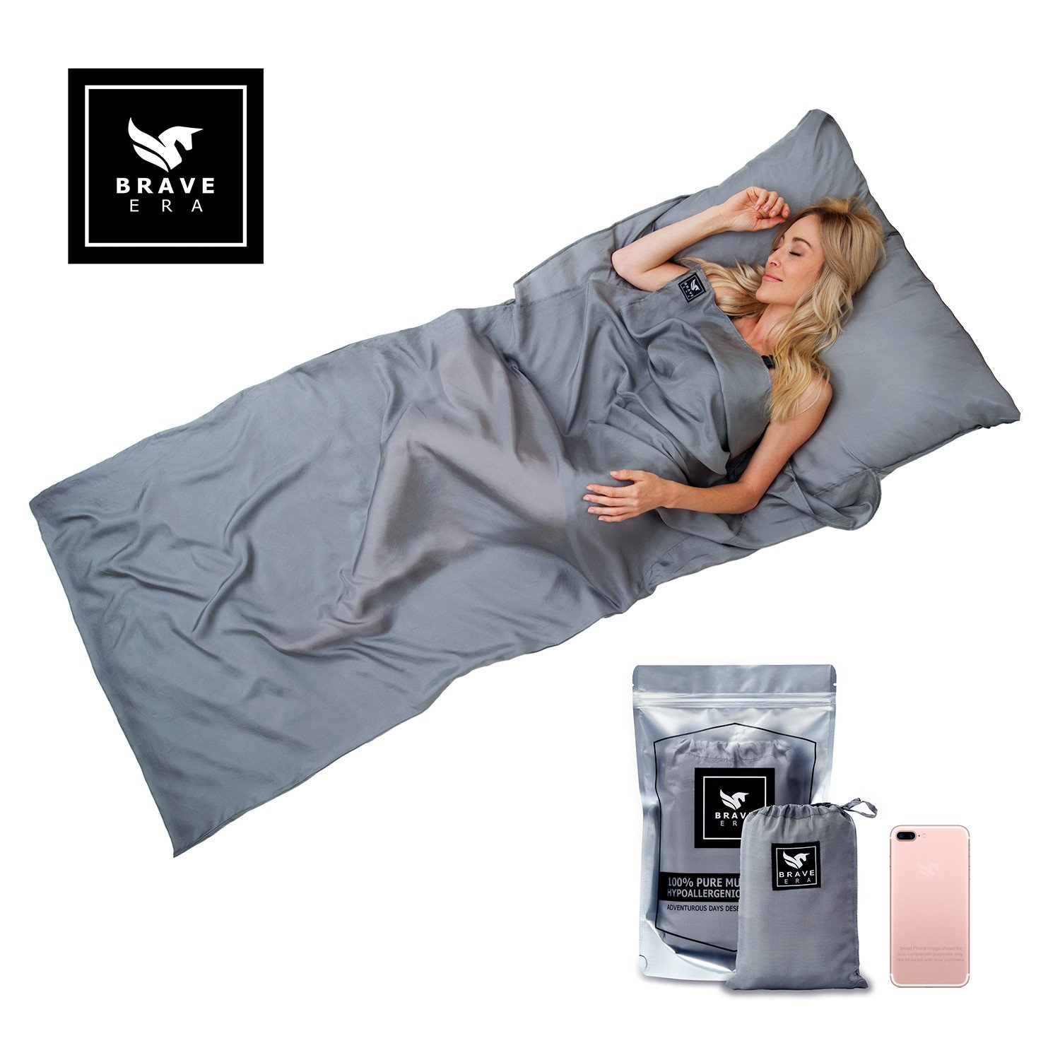 sleep sack brave era silk travel sheet review