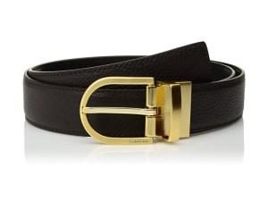 Calvin Klein Women's Reversible Leather Belt