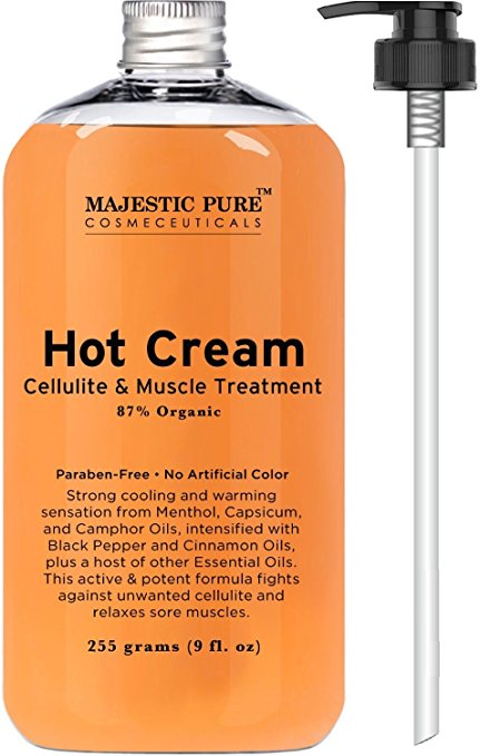 majestic pure hot cream muscle