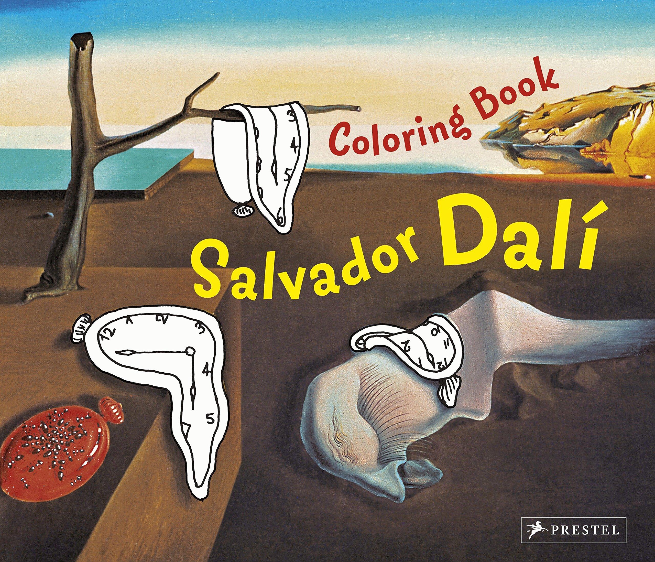 Dali Coloring Book