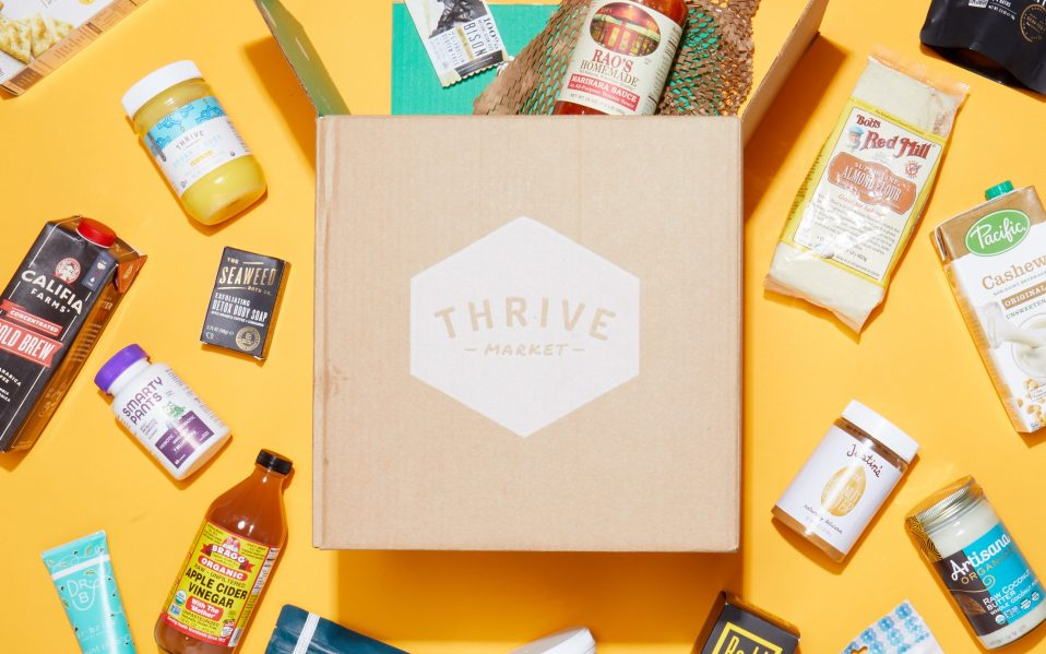 thrive market review unboxing