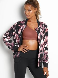 French Terry Bomber Jacket Victoria's Secret