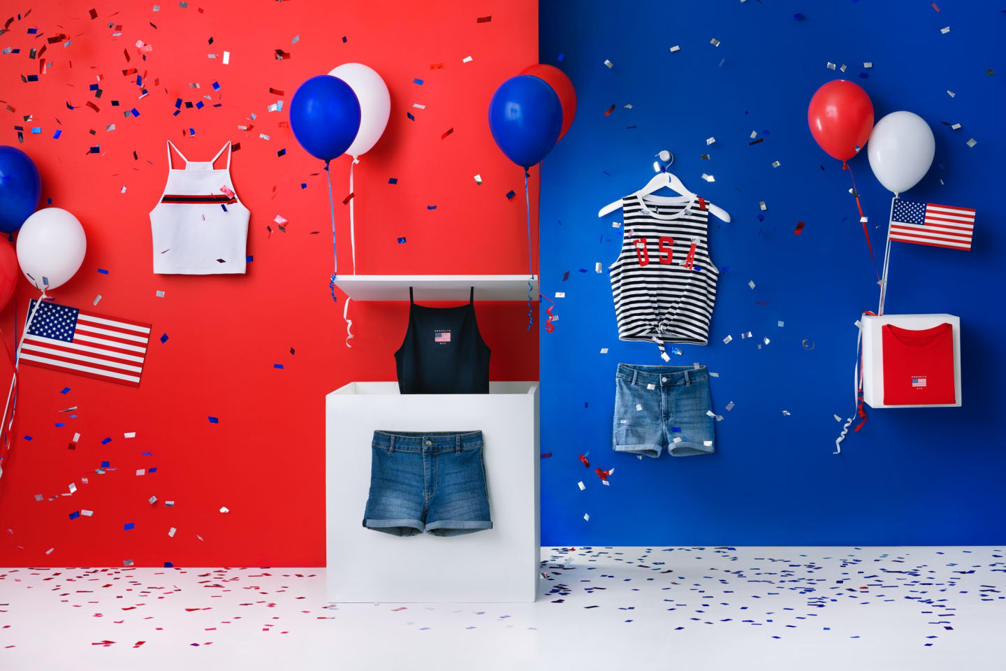 h&m 4th of july sale