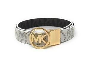 Michael Kors MK Signature Monogram Belt