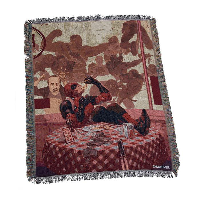 Deadpool Tapestry throw