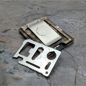 Kydex Tactical Wallet With Money Clip and Multitool
