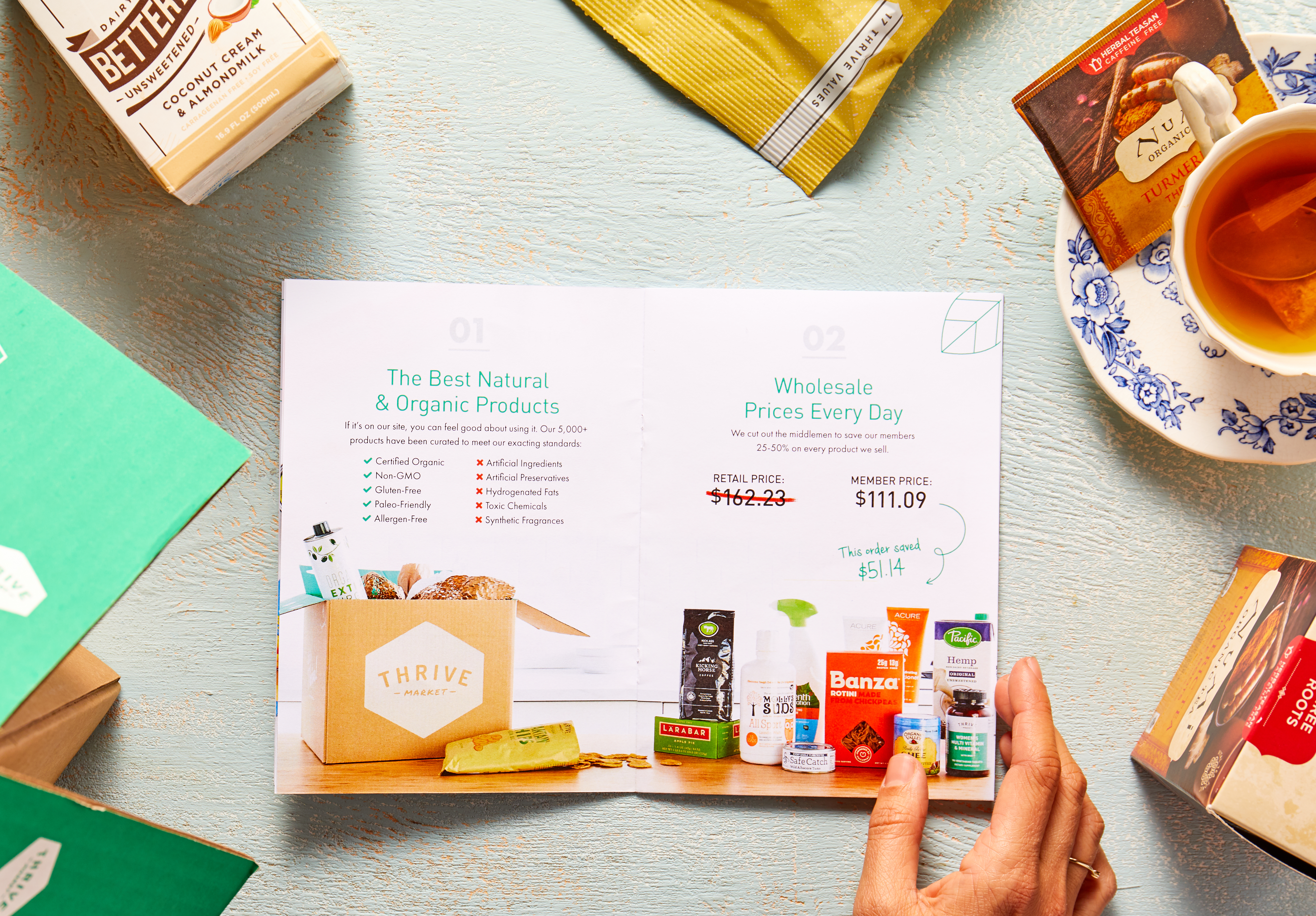 thrive market review deal promo code