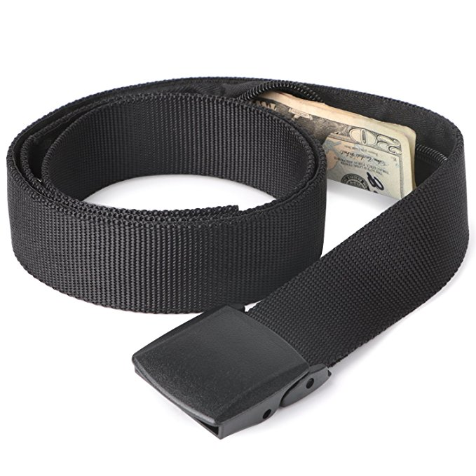 hidden wallets for travel black
