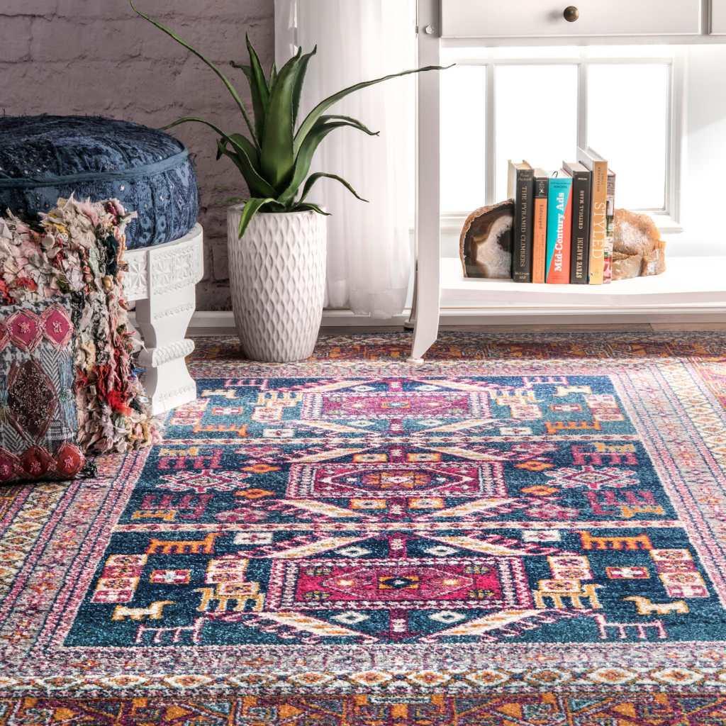 overstock sale bohemian rug