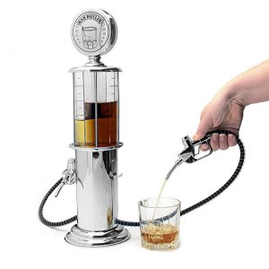 OAKZIP Gas Station Style Liquor Decanter