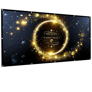 Owlenz 120 inch Projection Screen