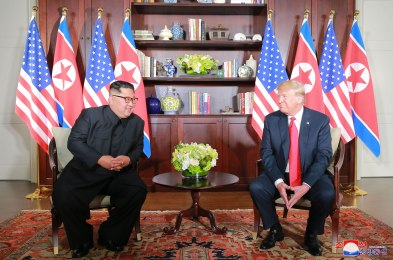 US North Korea Summit in Singapore, Sentosa Island - 12 Jun 2018