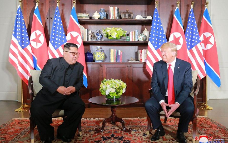 trump north korea meeting photo