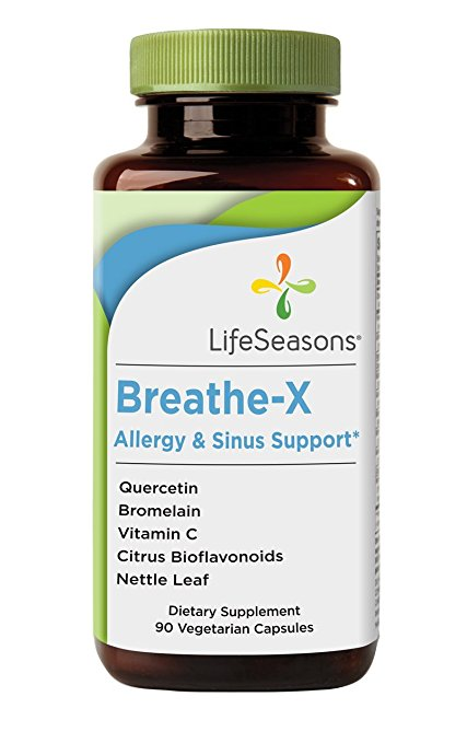 breathe-x allergy & sinus support tablets