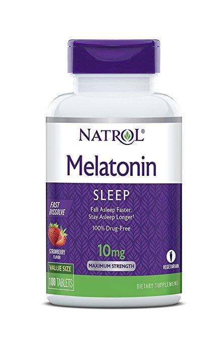 melatonin sleep capsules