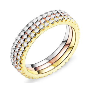 CZ Diamond Rings Stackable